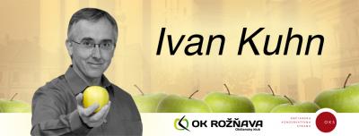 Viac o Ivanovi Kuhnovi, kandidátovi OKS na primátora Rožňavy, nájdete tu